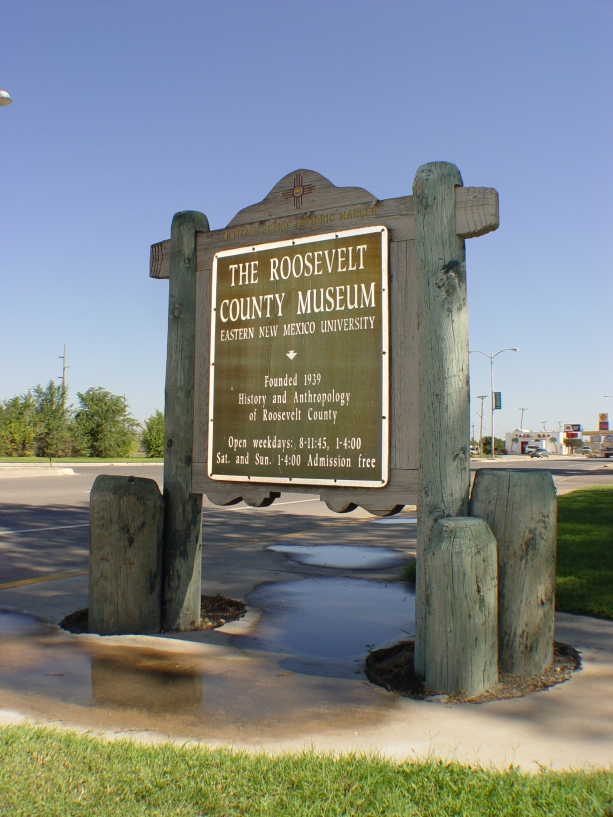 Roosevelt County NM Historical Marker
