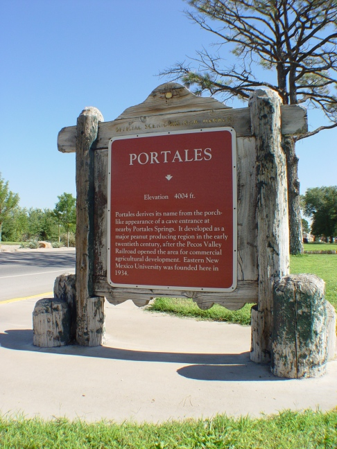 Portales New Mexico Historical Marker