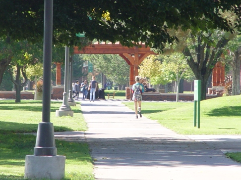 Eastern New Mexico University Campus Scene ENMU