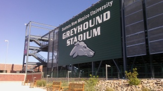 ENMU Greyhound Stadium Main Entrance
